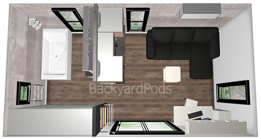 Backyard Pods Cabins Studios Granny Flats Diy Kits Or Installed