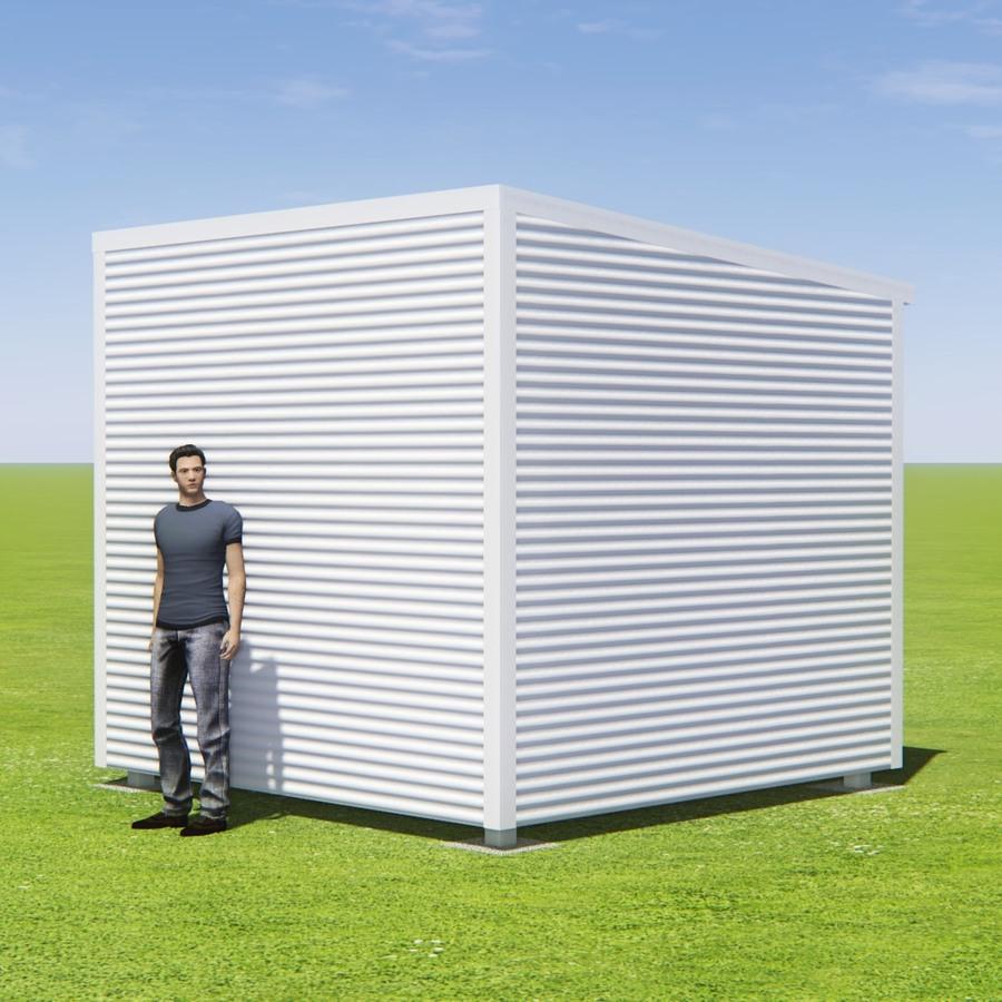 Flat pack colorbond pod kit 3m x 3m backyard pods for Bathroom design 3mx3m