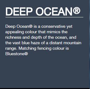 Exterior Paint To Match Deep Ocean Colorbond