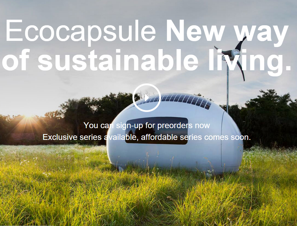 ecocapsule by nice architects sustainable tiny houses