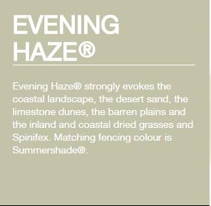 Colorbond® Evening Haze®