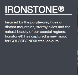 Colorbond® Ironstone®