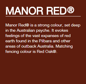 Colorbond® Manor Red®
