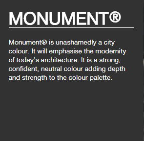 Colorbond® Monument®