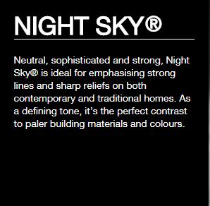 Colorbond® Night Sky®