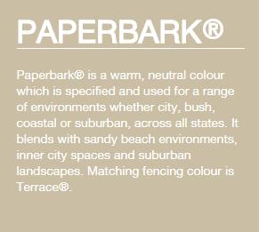 Colorbond® Paperbark®