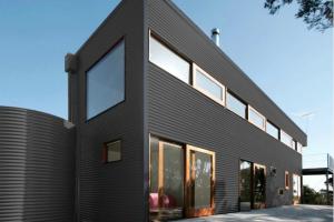 Colorbond® Basalt® building