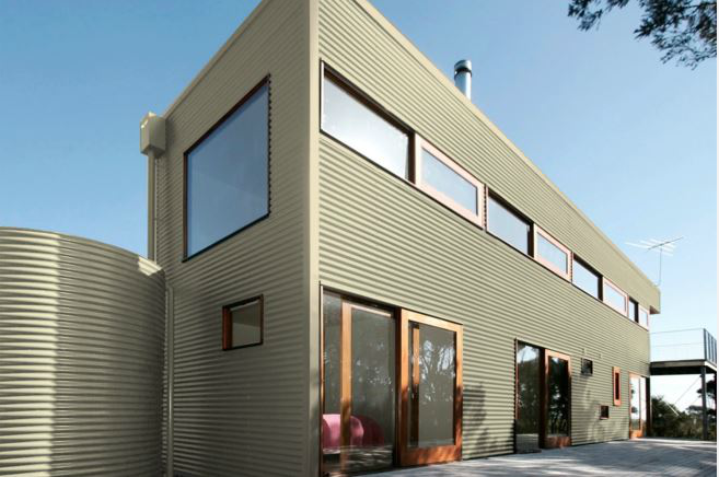 Colorbond® Classic Cream® building