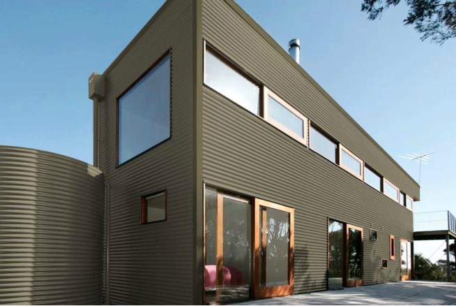 Colorbond® Cove® building