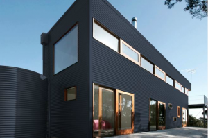 Colorbond® Deep Ocean® building