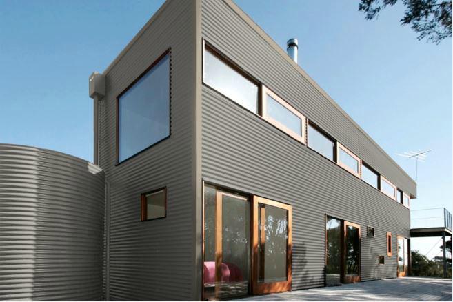 Colorbond® Dune® building