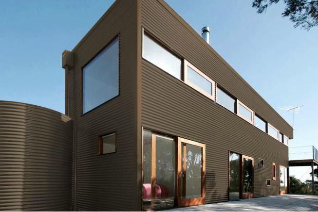 Colorbond® Jasper® building