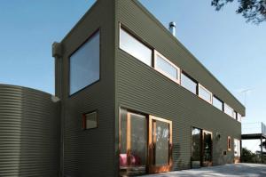 Colorbond® Mangrove® building