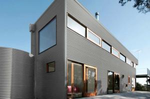 Colorbond® Shale Grey® building