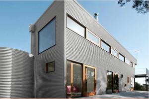 Colorbond® Surf Mist® building