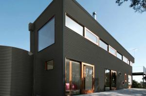 Colorbond® Woodland Grey® building
