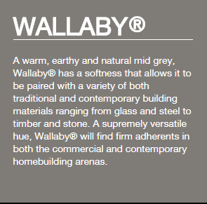 Colorbond® Wallaby®