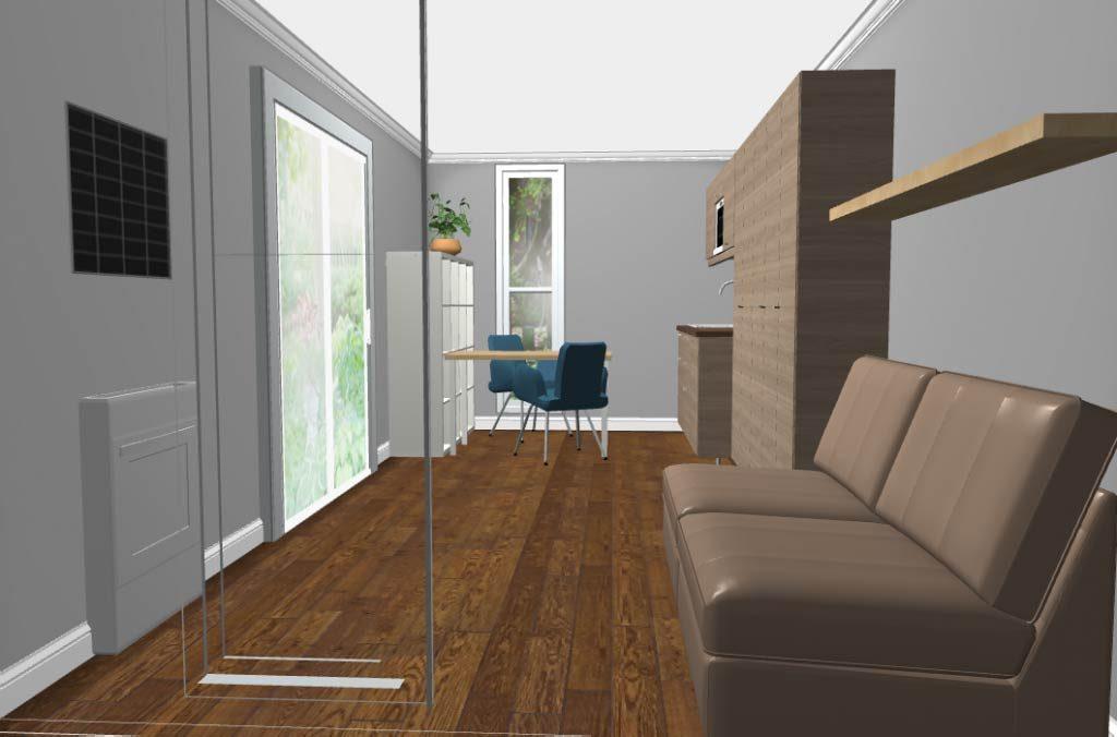 Studio flat pod 10