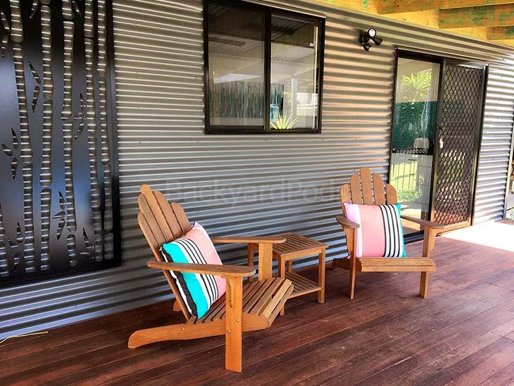 Relax, make yourself a backyard home