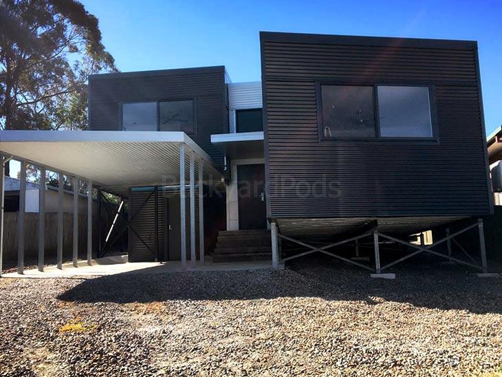 Modular pod house solutions