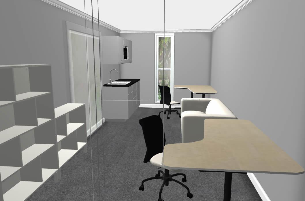 Backyard Pod Studio Office