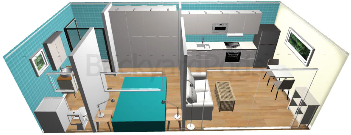 Granny flat with Bunnings fit-out is cheaper than IKEA