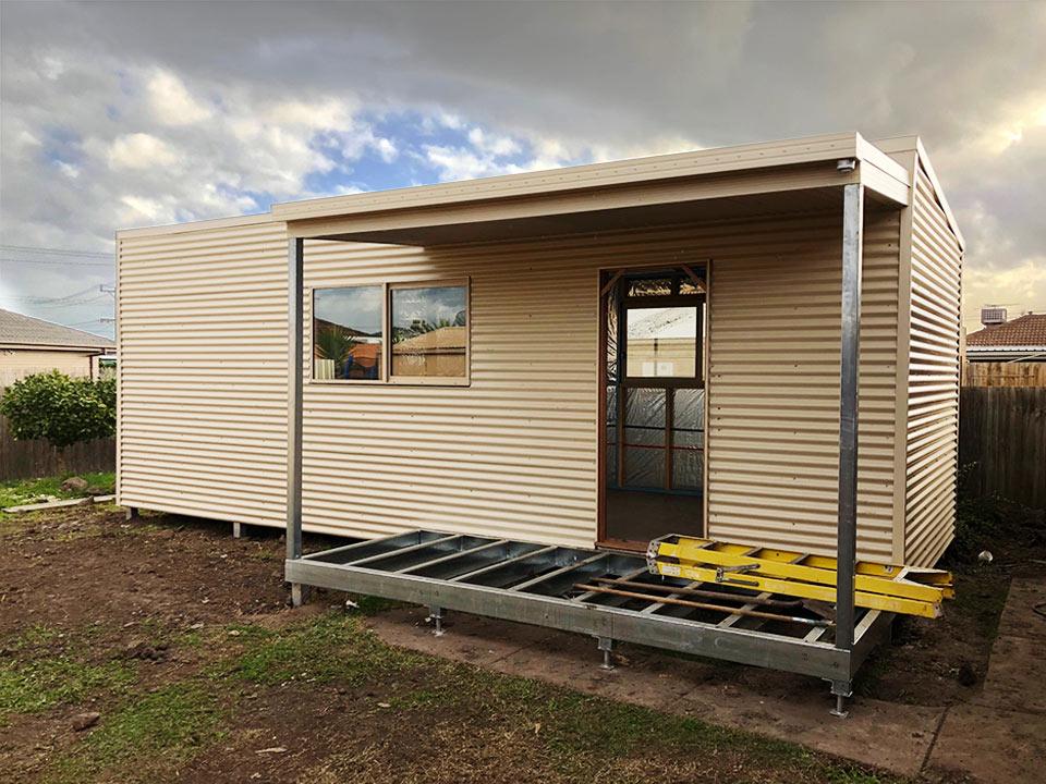Jodi Holliwell - Lalor VIC - Backyard Pods case study