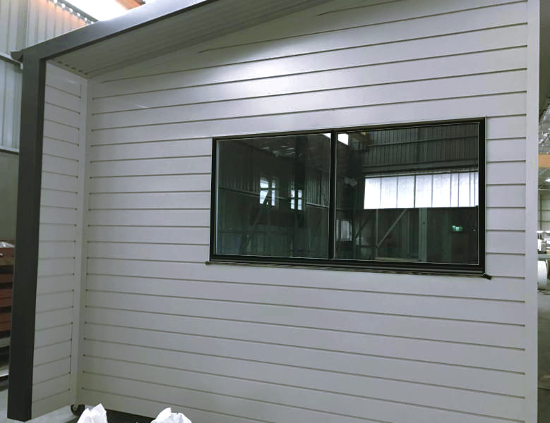 Bonville profile Colorbond cladding