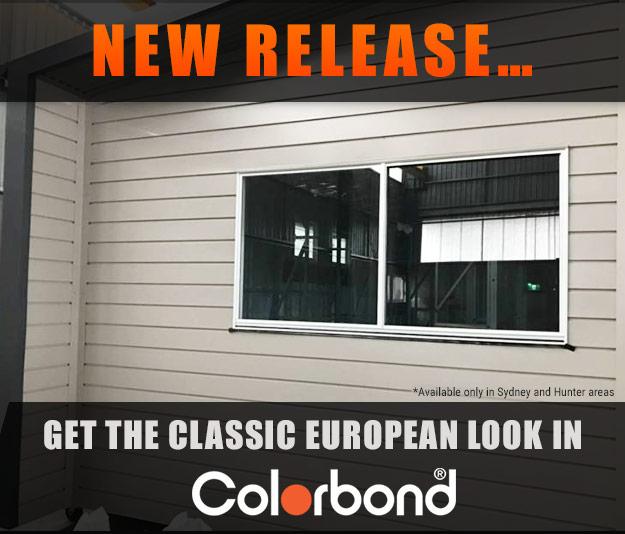 Bonville cladding - Colorbond