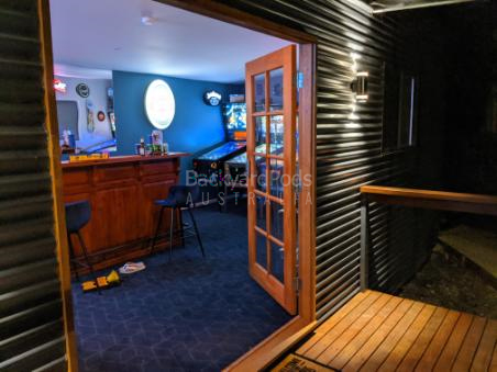 Ultimate man-cave Sunbury VIC - view inside entry