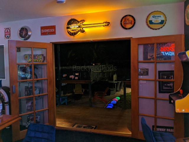 Ultimate man-cave Sunbury VIC - view from inside