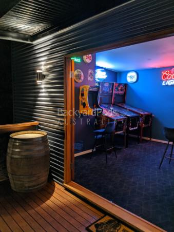 Ultimate man-cave SUnbury VIC - pinball machines