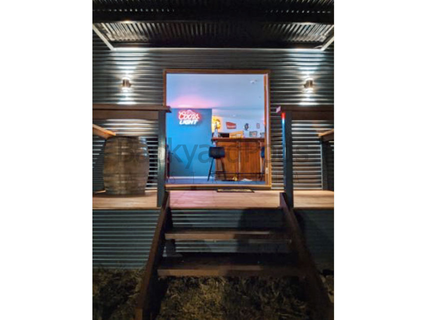 Ultimate man cave hobby shed at Sunbury, VIC