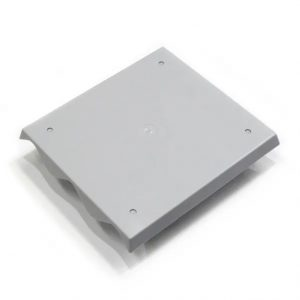 Correyplate 3 span ABS wall mounting plate