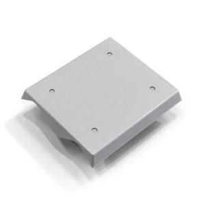 Correyplate 2 span ABS wall mounting plate