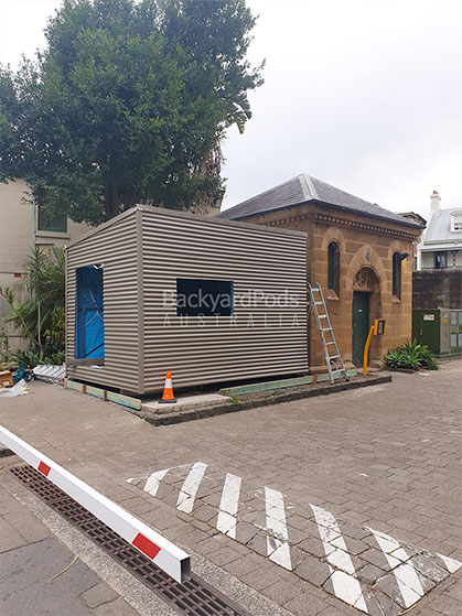 Backyard Pods - National Art School, Darlinghurst Sydney, NSW