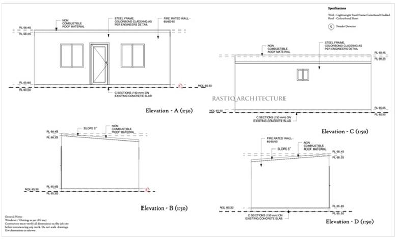 Rastiq Architecture floor plan