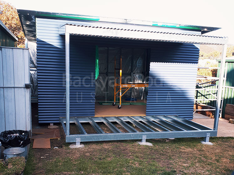 DIY home office 4m x 5m with veranda - Lithgow NSW
