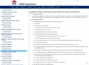 NSW Building Approvals Legislation Section 9