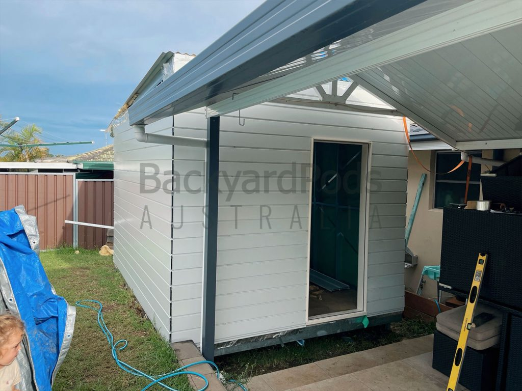 3m x 4m Home Office in Bonville, Cambridge Park, NSW - Backyard Pod Kit