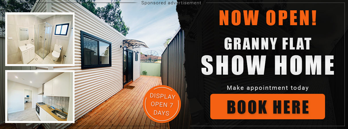 Granny flat display open 7 days - Backyard Pods
